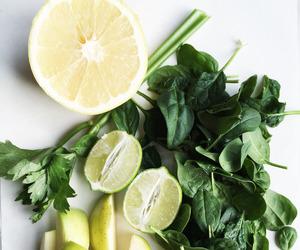 lemon, theme, and green image