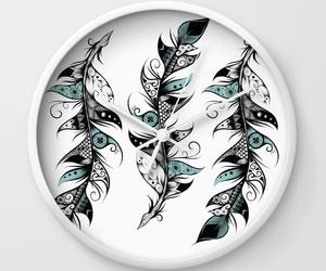 art, horloge, and bohochic image