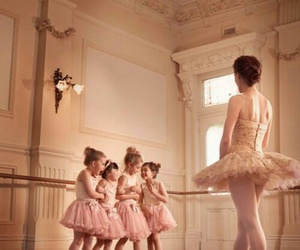 ballerina, ballet, and children image