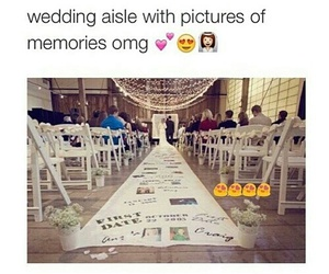 wedding, memories, and couple image