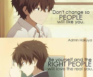 anime, hyouka, and quotes image