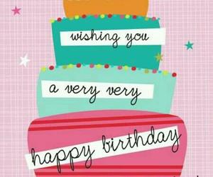 birthday, card, and wish image