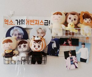 doll, exo, and korea image