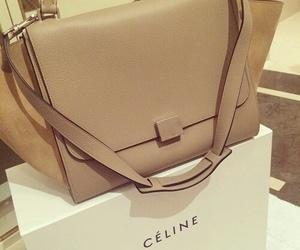 celine, bag, and beige image