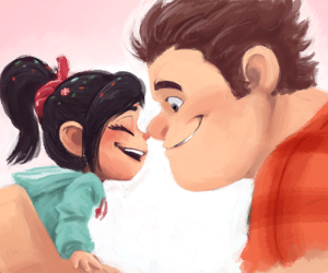 disney, wreck it ralph, and art image