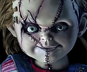 horror, chuckie, and doll image