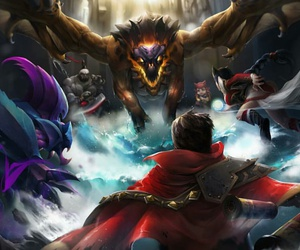 annie, Drake, and league of legends image