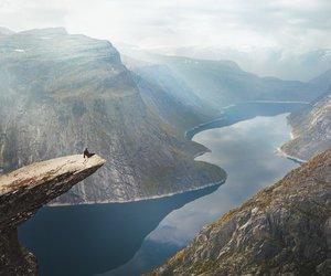 nature, landscape, and norway image