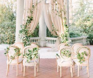 decor, romantic, and wedding image