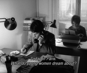 paris, Dream, and woman image