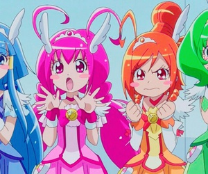 precure, スマイルプリキュア, and キュアハッピー image