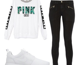 nike, outfit, and pants image