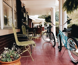 bikes and front porch image