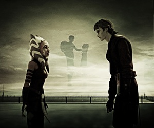 alone, Anakin Skywalker, and leaving image