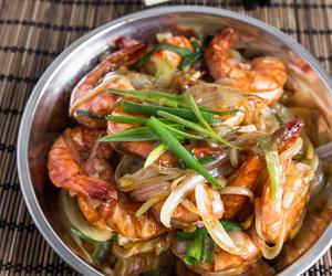 chinese, garlic, and shrimp image