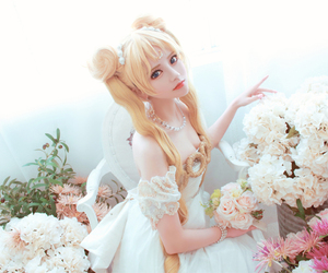 cosplay and sailor moon image