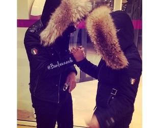 couple, fur, and reubeu image