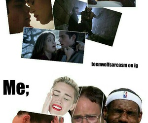 lol, lydia, and teen wolf image