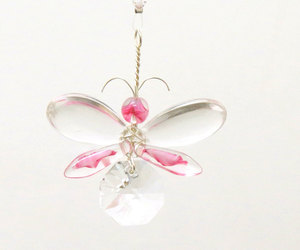 etsy, pink butterfly, and wishing tree image