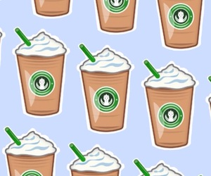 background, starbucks, and wallpaper image