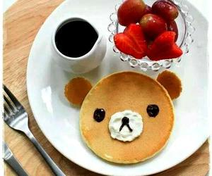 bear, breakfast, and pancakes image