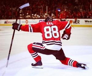 hawks, hockey, and nhl image
