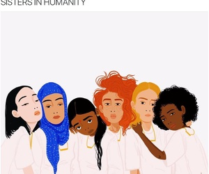 sisters, girls, and humanity image