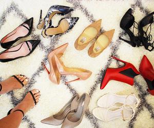 fashion, heels, and luxury image