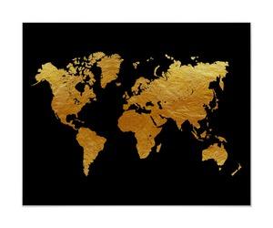 art and world map image