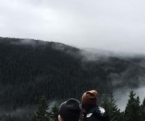 adventure, fog, and travel image