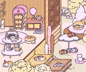 cat, game, and kawaii image