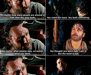 the walking dead, twd, and negan image