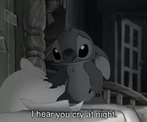 cry, ohana, and night+ image