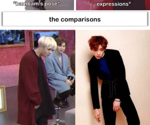 funny, memes, and got7 image
