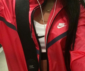 nike, red, and ghetto image