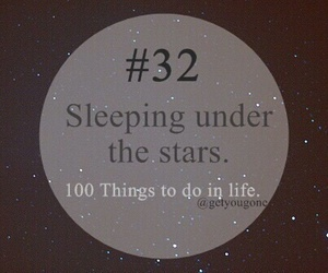 stars, 32, and 100 things to do in life image