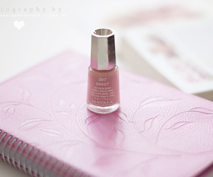 nail polish and pink image