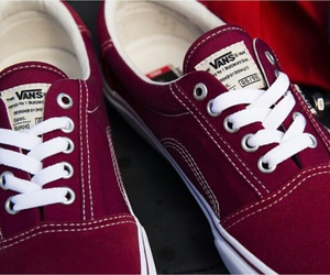 vans, red, and cool image