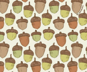 acorn, autumn, and background image