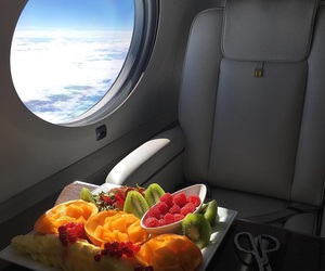 fruit, food, and plane image