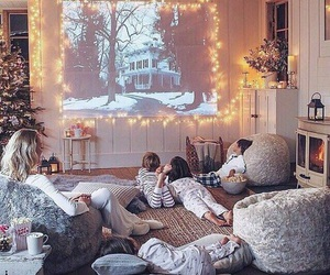 family, christmas, and winter image