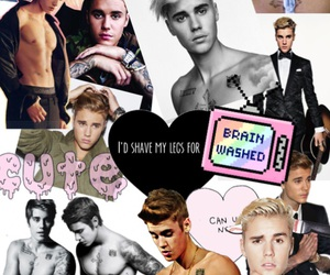 Collage, justin bieber, and tumblr image