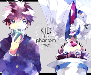 anime and kaito kid image