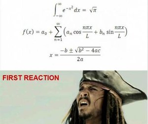funny, math, and jack sparrow image