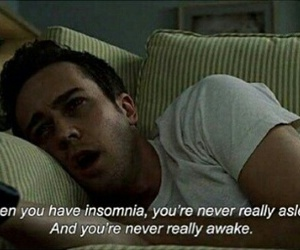 insomnia, quote, and fight club image