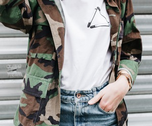 accessories, camo, and casual image