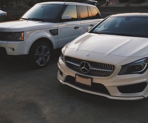 mercedes, luxury, and white image