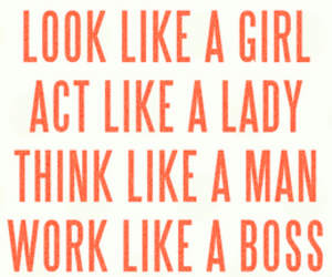 lady, look, and quote image