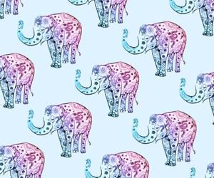background, elephant, and iphone image