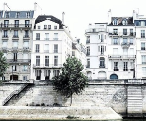 white, city, and blue image